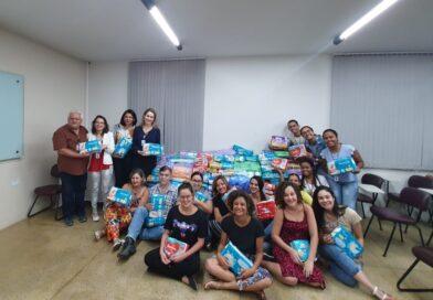 Gincana Solidária Fade-UFPE entrega donativos à Fundação Alice Figueira