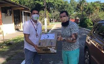 UFPE distribui 1 mil escudos faciais e 600 máscaras