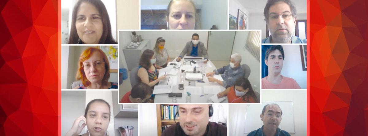 Reunião do Conselho de Curadores da Fade-UFPE aprova relatório anual e elege como presidente a professora Magdala Novaes