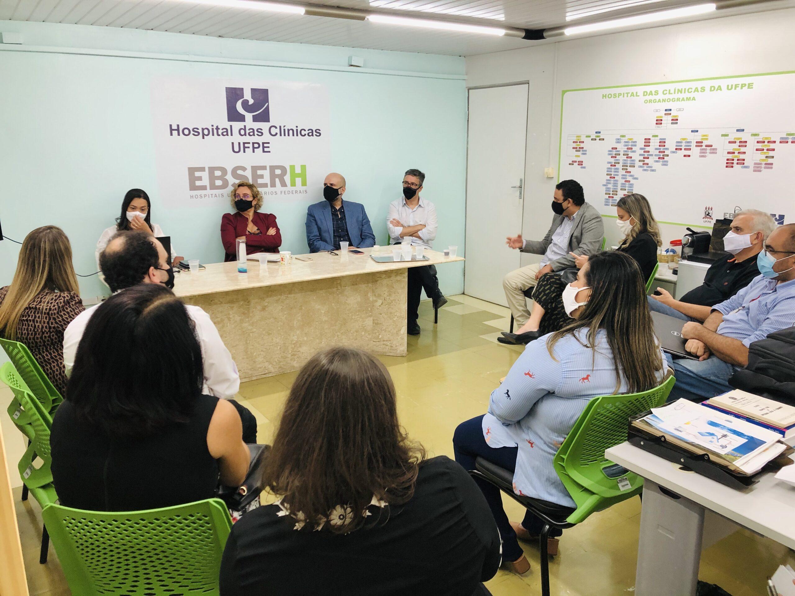 Fade-UFPE e Hospital das Clínicas se reúnem em planejamento estratégico