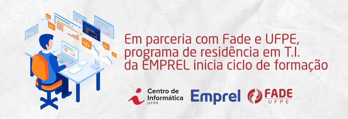 Em parceria com Fade e UFPE, programa de residência em T.I. da EMPREL inicia ciclo de formação